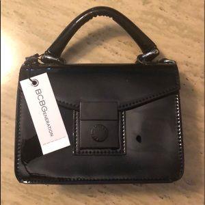 BCBG mini crossbody bag black
